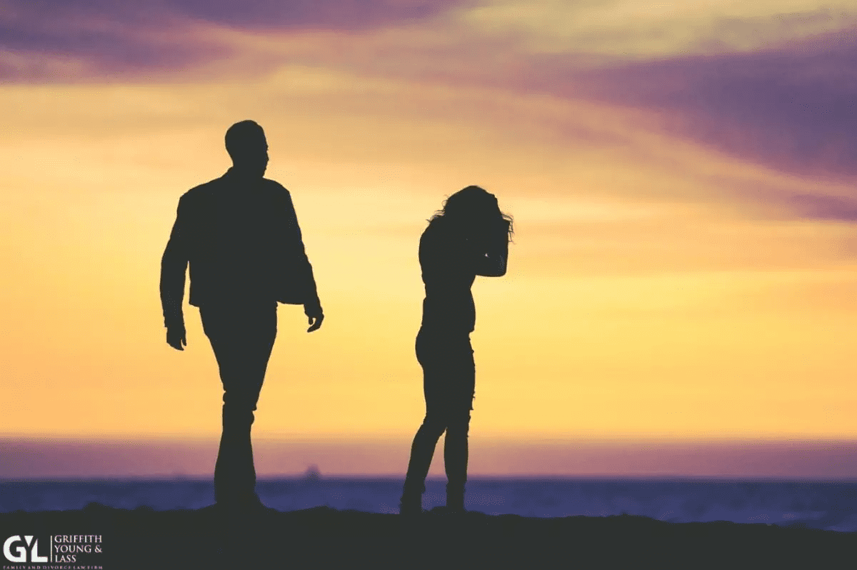 Couple Silhouette at beach
